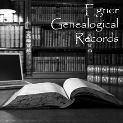 Egner Genealogical Records